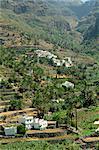 Valle Gran Rey, La Gomera, Canary Islands, Spain, Atlantic, Europe