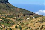 Bereich zwischen Erquito und Las Hayas, La Gomera, Kanarische Inseln, Spanien, Atlantik, Europa