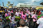 Stahlband-Festival, Point Fortin, Trinidad, Westindien, Caribbean, Mittelamerika