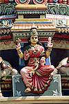 Detail, Hindu Temple, Colombo, Sri Lanka, Asia
