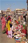 État des vendeurs ambulants, Jodhpur, Rajasthan, en Inde, Asie