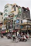 Scène de rue, Hanoi, Vietnam