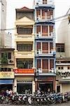 Bâtiments, Street Scene, Hanoi, Vietnam