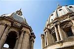 Coupoles, la cité du Vatican, Basilique Rome, Latium, Italie St-Pierre