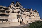 État du Palais de la ville, construite en 1775, Udaipur, Rajasthan, Inde, Asie