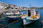 Port de Skala, Patmos, Dodécanèse, îles grecques, Grèce, Europe
