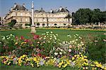 Palais du Luxembourg and gardens, Paris, France, Europe