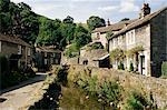 Castleton, Peak District, Derbyshire, Angleterre, Royaume-Uni, Europe