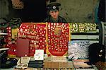 Souvenir seller, Vladivostok, Russian Far East, Russia, Europe