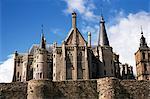 Gaudi's Bishops Palace, Astorga, Leon, Spain, Europe
