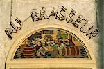 Au Brasseur restaurant, Old Town, Brussels, Belgium, Europe