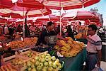 City's market, Dolac, Zagreb, Croatia, Europe