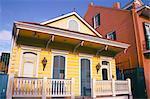 Domestic architecture, New Orleans, Louisiana, United States of America, North America