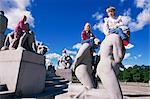 Frogner Park, Oslo, Norway, Scandinavia, Europe