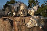 Mask on Sibelius monument, Helsinki, Finland, Scandinavia, Europe