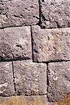Close-up of Polykrates wall, Pythagono, island of Samos, Dodecanese, Greece, Europe