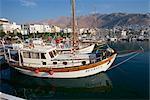 Port, Pothia, Kalymnos, Dodécanèse, îles grecques, Grèce, Europe