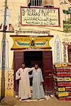Décoration magasin albâtre, nouveau Gourna, Louxor, Égypte, Afrique du Nord, Afrique