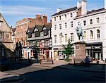 Statue de Clive de l'Inde dans le Square, Shrewsbury, Shropshire, Angleterre, Royaume-Uni, Europe