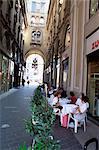 Victor Emanuel arcade, Milan, Italy, Europe