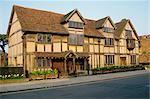 Shakespeare's birthplace, Stratford, Warwickshire, England, United Kingdom, Europe