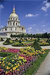Dome church, housing Napoleon's tomb, Hotel des Invalides, Paris, France, Europe