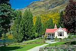 Homestead Watter pic près de Queenstown, Southland, île du Sud, Nouvelle-Zélande, Pacifique