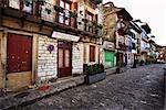 Cobbled Street in Old Town San Nicolas, Spain
