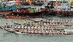 Dragon Boat race, Po Toi Island, Hong Kong