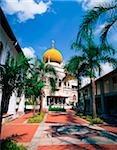 Singapore, Sultan Mosque, most important Muslim building in Singapore