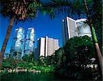 Chine, Hong Kong, Amirauté, bâtiments d'amirauté et Lippo Centre