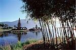 Indonesia, Bali, Bedugal, Lake Bratan, Pura Ulun Danau Water Temple
