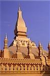 Laos, Vientiane, Main temple, Wat That Luang