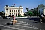 Hôtel de ville d'Ho Chi Minh ville, Vietnam