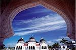 Banda Aceh, en Indonésie, grande mosquée