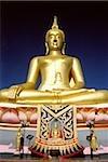 Thailand, Ko Samui, Golden Buddha.