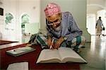 Savant musulman de la Malaisie, Penang, études historiques islamiques au Kapitan Kling mosquée.