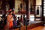 Cérémonie de mariage traditionnel au Vietnam, Ho Chi Minh-ville, à la pagode de Vinh Nghiem.