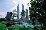 Malaisie, Kuala Lumpur, Petronas Towers.