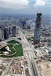 Vue aérienne de Pudong, Chine
