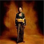 Indonésie, Bali, Ubud, balinais Mature femme en tenue de cérémonie.