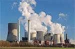 Niederaussem centrale électrique Niederaussem, Rhénanie du Nord-Westphalie, Allemagne