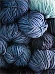 Hand Spun Balls of Wool