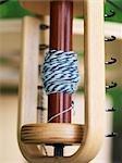 Machine de filature de laine