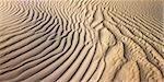 Ondulations dans le sable