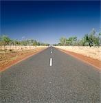 Highway, Australian Outback, Australia