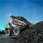 Black Coal Mining, Dump Truck, Australia