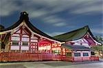Sanctuaire de Fushimi Inari Taisha, Fushimi, Kyoto, préfecture de Kyōto, Kansai, Honshu, Japon