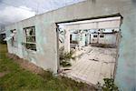 Hurricane Damaged House, Grand Bahama Island, Bahamas