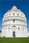 Baptistry of St. John, Piazza dei Miracoli, Pisa, Tuscany, Italy